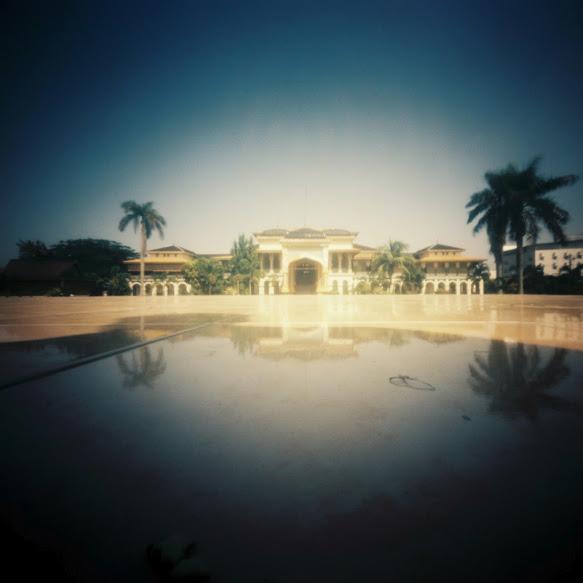 Tampak Depan Istana Maimun